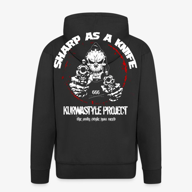 Kurwastyle Project - Sharp As A Knife Hooded Jacket