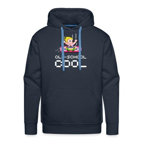 Old-School Cool - Sweat-shirt à capuche Premium pour hommes