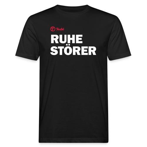 Männer Premium T-Shirt Teufel Ruhestörer - Männer Bio-T-Shirt