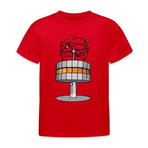 Weltzeituhr in Berlin - Kinder T-Shirt