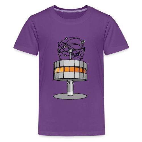 Weltzeituhr in Berlin - Teenager Premium T-Shirt