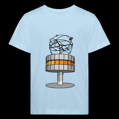 Weltzeituhr in Berlin - Kinder Bio-T-Shirt