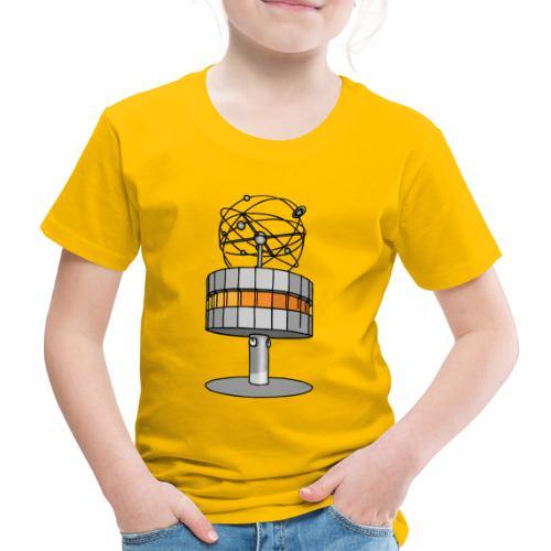 Weltzeituhr in Berlin - Kinder Premium T-Shirt