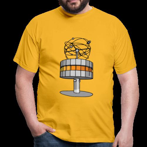 Weltzeituhr in Berlin - Männer T-Shirt