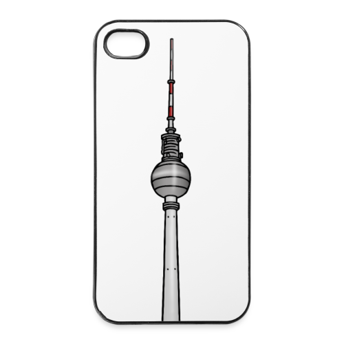 Fernsehturm Berlin c - iPhone 4/4s Hard Case
