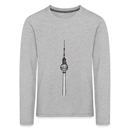 Fernsehturm Berlin c - Kinder Premium Langarmshirt