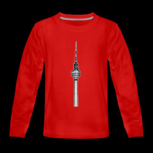 Fernsehturm Berlin c - Teenager Premium Langarmshirt