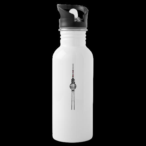 Fernsehturm Berlin c - Trinkflasche