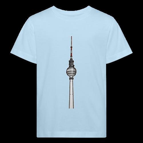 Fernsehturm Berlin c - Kinder Bio-T-Shirt