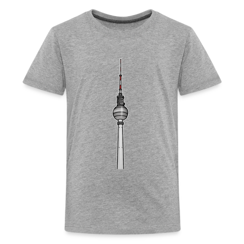 Fernsehturm Berlin c - Teenager Premium T-Shirt