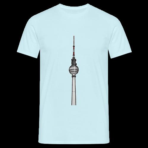 Fernsehturm Berlin c - Männer T-Shirt