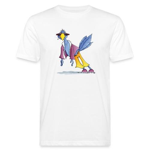 schräger Vogel - Männer Bio-T-Shirt - Männer Bio-T-Shirt