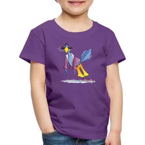 schräger Vogel - Kinder Premium T-Shirt  - Kinder Premium T-Shirt
