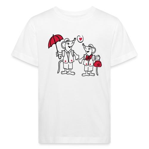 Mäuse - Kinder Bio-T-Shirt
