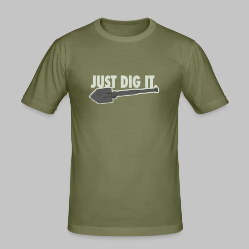 Just Dig It - Herre Slim Fit T-Shirt