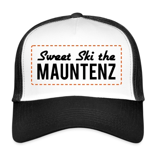 Sweet Ski the Mauntenz Cap - Trucker Cap