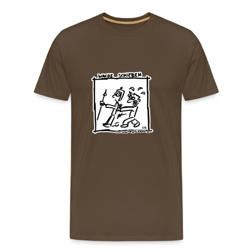 Wache schieben - Männer Premium T-Shirt