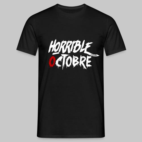 T-SHIRT HORRIBLE OCTOBRE - T-shirt Homme