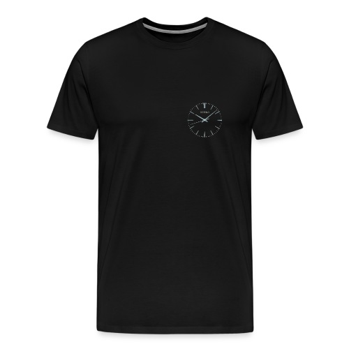 Retro watch small - Men's Premium T-Shirt
