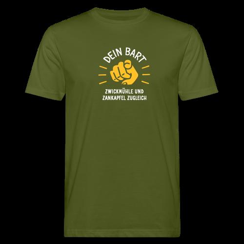 Dein Bart – Zwickmühle und Zankapfel zugleich - Männer Bio-T-Shirt