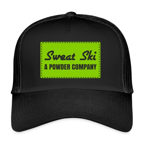 Sweet Ski - A Powder Company Cap - Trucker Cap