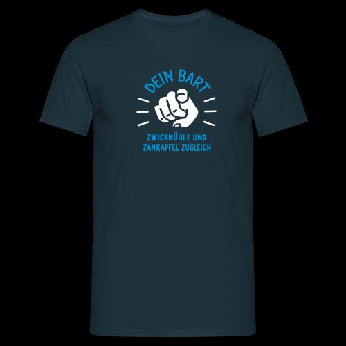 Dein Bart – Zwickmühle und Zankapfel zugleich - Männer T-Shirt