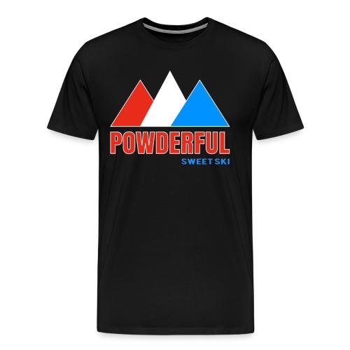 Powderful Sweet Ski T-Shirt - Männer Premium T-Shirt