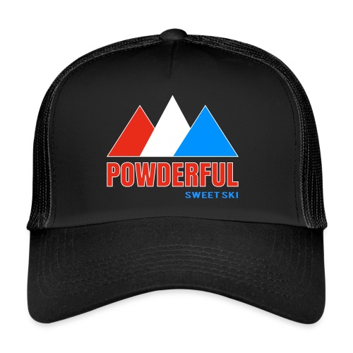 Powderful Sweet Ski Cap - Trucker Cap