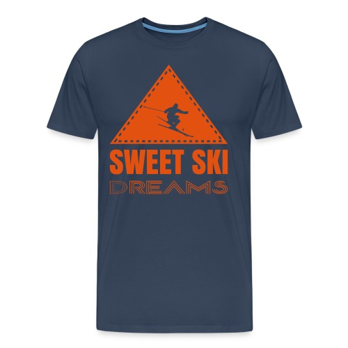 Sweet Ski Dreams T-Shirt - Männer Premium T-Shirt