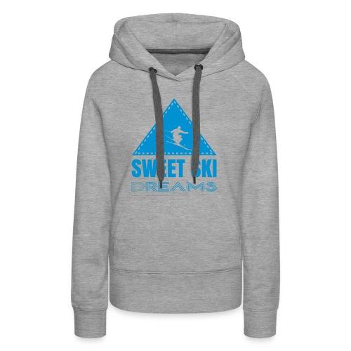 Sweet Ski Dreams Frauen Hoodie - Frauen Premium Hoodie