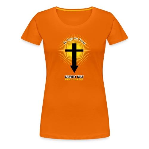 T-Shirt_Gravity Cult_F - T-shirt Premium Femme