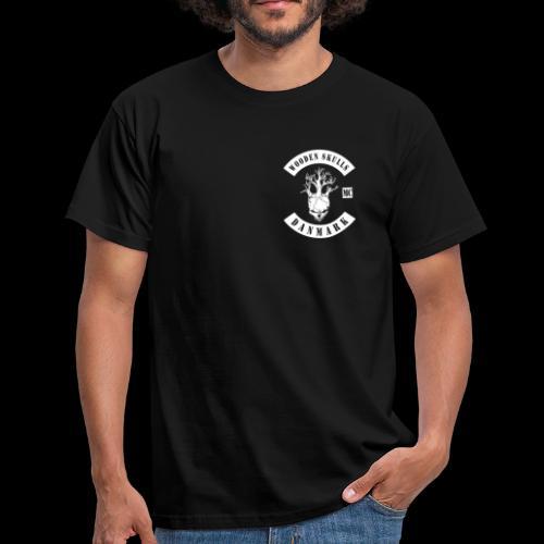WOODEN SKULLS - Herre-T-shirt
