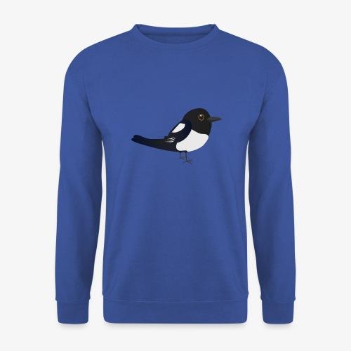 Schattige ekster sweater  - Mannen sweater
