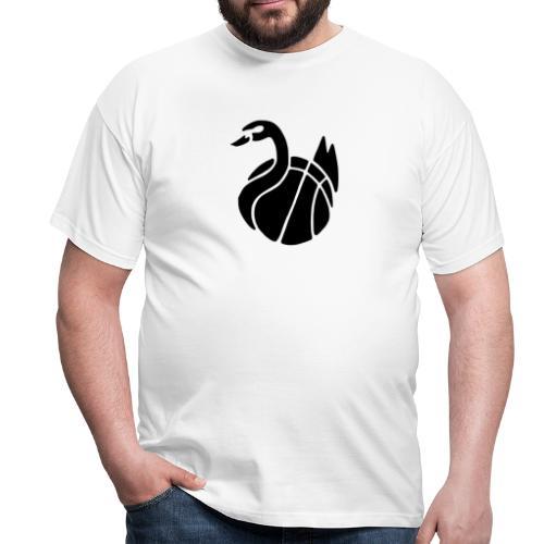 Herren T-Shirt, Flexdruck schwarz / schwarz - Männer T-Shirt