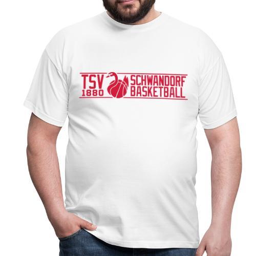 Herren T-Shirt, Flexdruck rot / rot - Männer T-Shirt