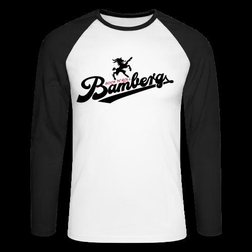 Bock 'n' Roll College - #bocknroll - Männer Baseballshirt langarm