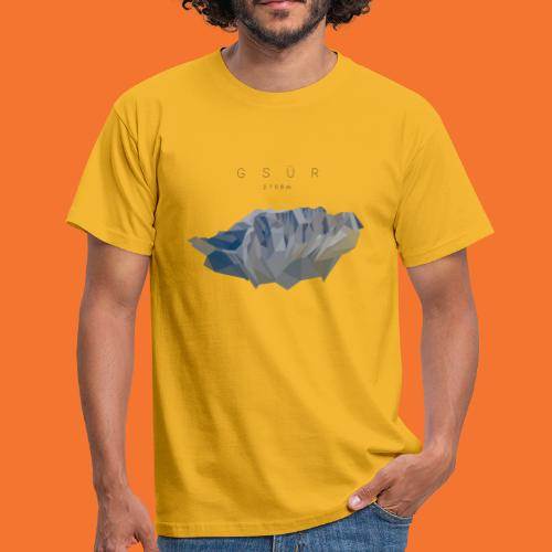 Gsür - Low Poly - Männer T-Shirt