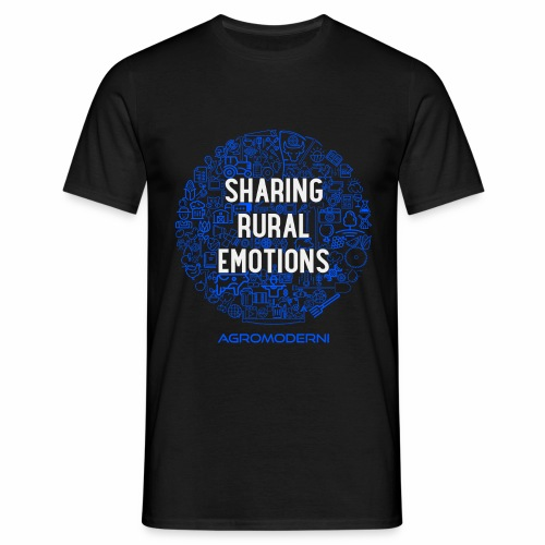Sharing Rural Emotions - T-shirt Blue - Maglietta da uomo
