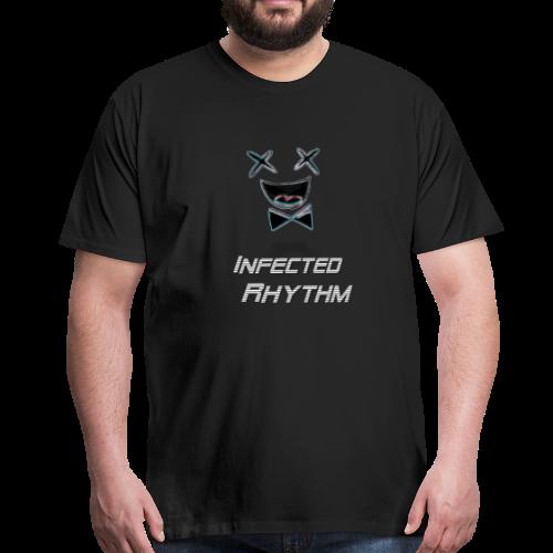 Infected Rhythm Smiles T-Shirt - Männer Premium T-Shirt