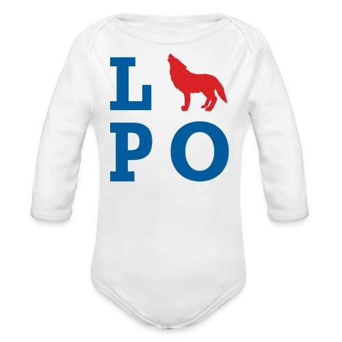 LUPO - Baby Bio-Langarm-Body