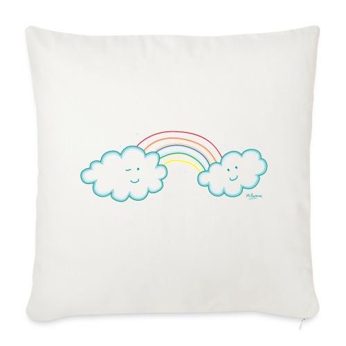 Housse de coussin Milumine 'les nuages' - Housse de coussin décorative 44x 44cm
