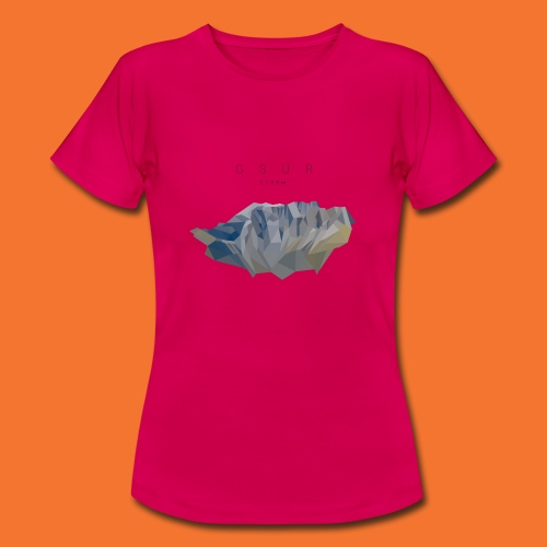 Gsür - Low Poly - Frauen T-Shirt