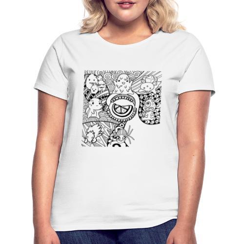Monstertrickserin (Damen) - Frauen T-Shirt