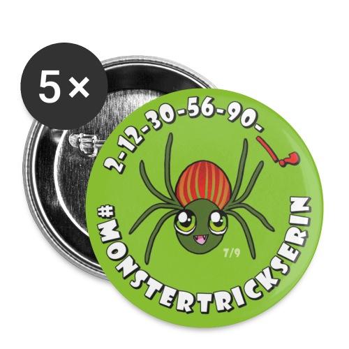 Monster-Button 7 - Buttons klein 25 mm