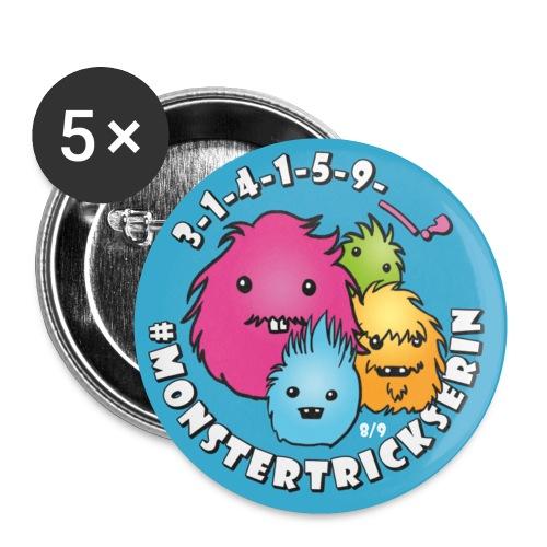 Monster-Button 8 - Buttons klein 25 mm
