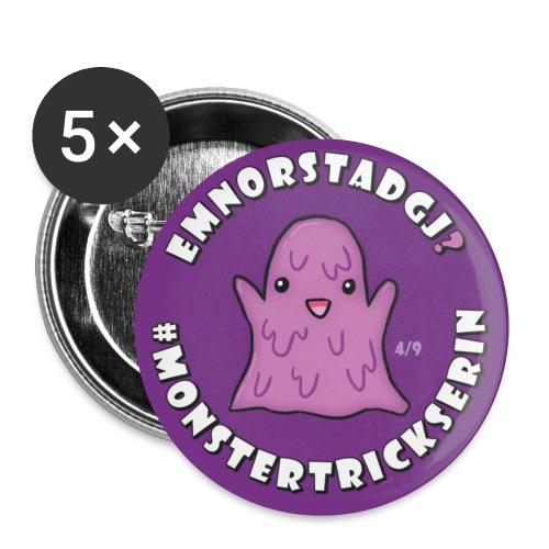 Monster-Button 4 - Buttons klein 25 mm