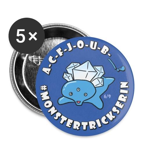Monster-Button 6 - Buttons klein 25 mm