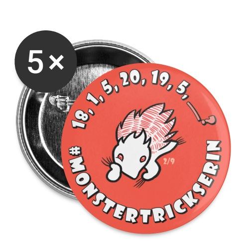 Monster-Button 2 - Buttons klein 25 mm
