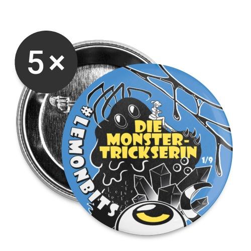 Monster-Button 1 - Buttons klein 25 mm