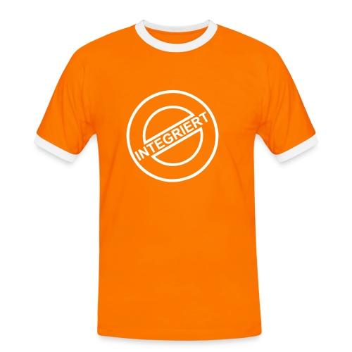 Integriert - Männer Kontrast-T-Shirt